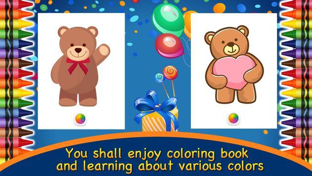 Mewarnai Buku Teddy Bear For Android Apk Download