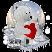Teddy Bear Love 3D icon