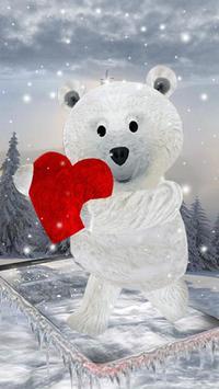 Teddy Bear Love 3D poster