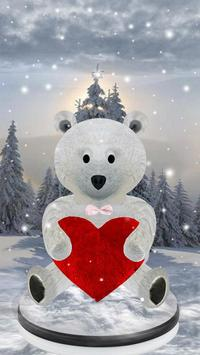Teddy Bear Love 3D screenshot 1