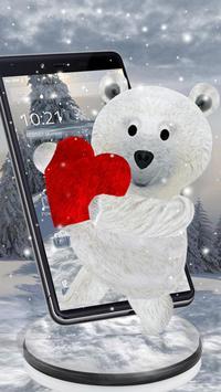 Teddy Bear Love 3D screenshot 2