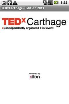 TEDx Carthage poster