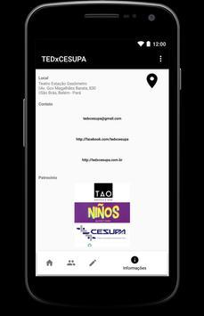 TEDxCESUPA Consolidar apk screenshot