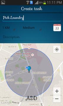 Loto - Location based Todo App screenshot 1