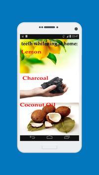 teeth whitening secrets tips apk screenshot