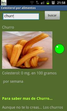 Colesterol ñam ñam screenshot 1