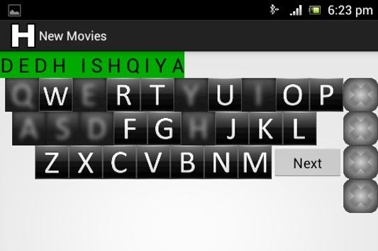 Hangman (Hindi) apk screenshot