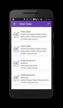 Toilet Finder apk screenshot