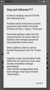 TEKNOJEK [Daftar Penumpang] apk screenshot