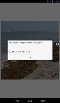 Telangana Sand booking screenshot 2