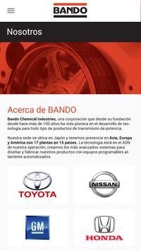 BANDO Catálogo de Productos screenshot 1