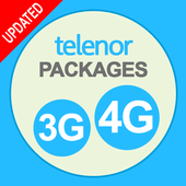 Telenor Packages 3G/4G icon