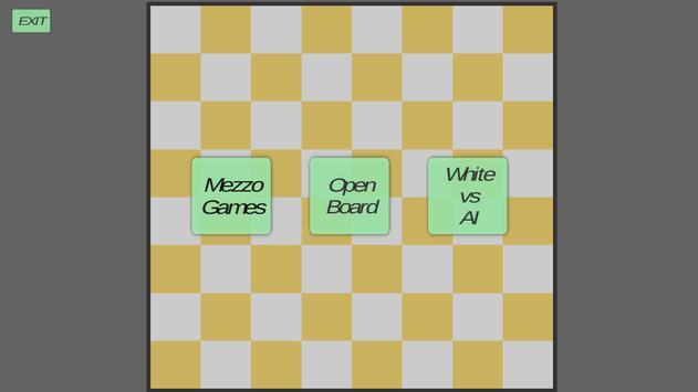 Mezzo Chess poster