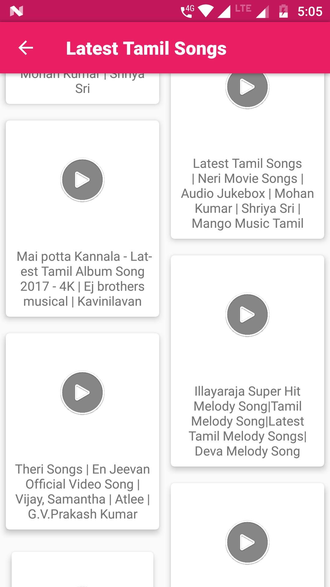 Telugu Hit Songs - Telugu New Movies Video Song for Android