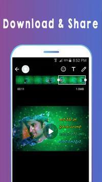 Telugu Video Songs Status : Telugu Status 2018 screenshot 2