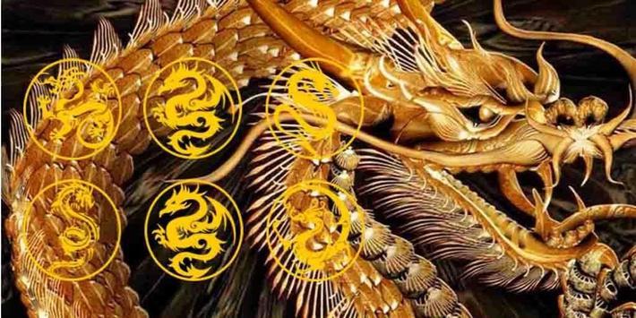 Golden Dragon Theme apk screenshot