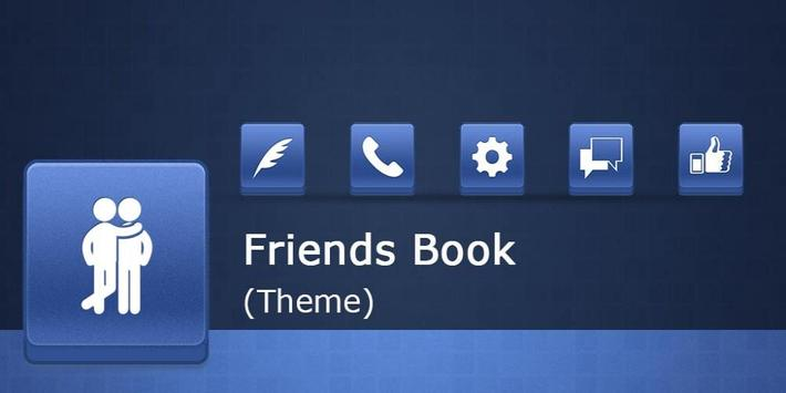 Friends Book Theme apk screenshot