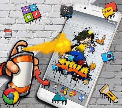 Graffiti Style Tema poster