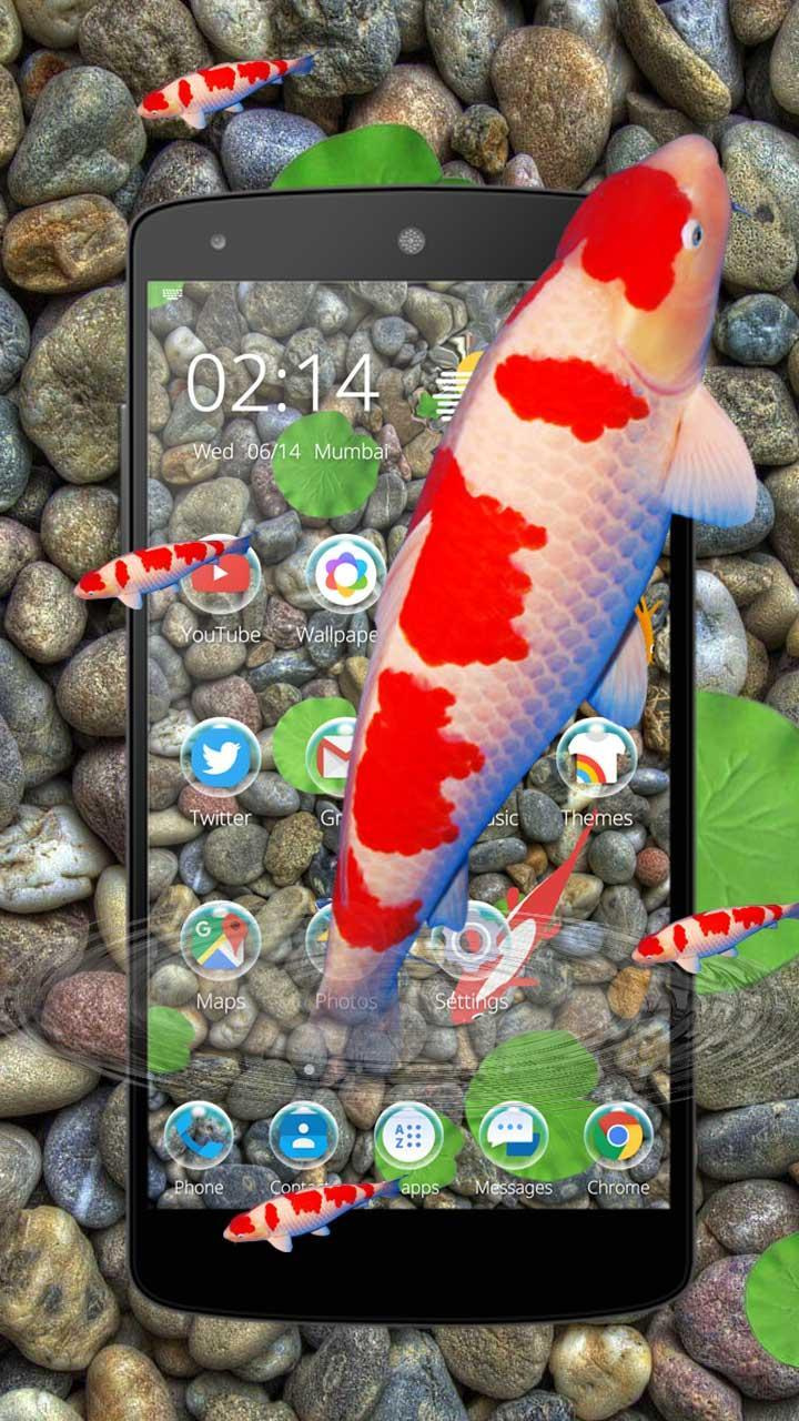 KOI Lucky Fish 3D Theme for Android - APK Download
