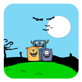 Cute Monster Teme icon