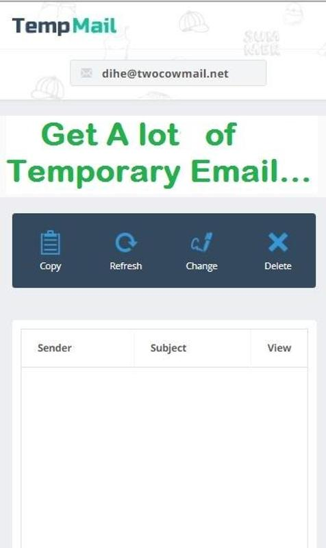 fake email for android apk download