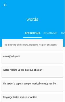 Words apk screenshot