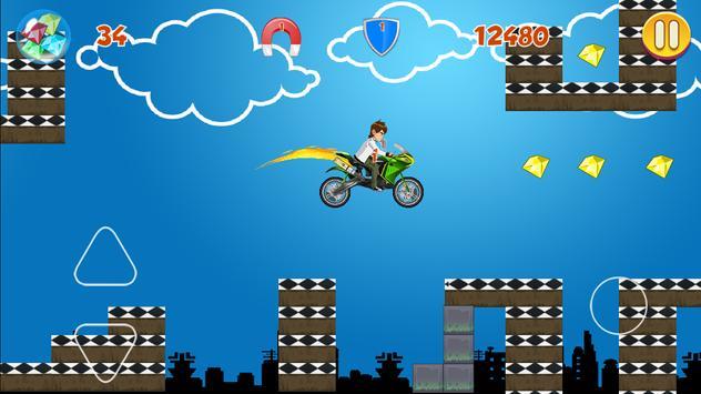 MotorBike Racing 10 Gems Free apk screenshot