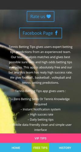 Free tennis betting predictions virtual sports betting