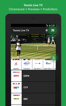 Tennis TV Live - Tennis Television - Live scores screenshot 6