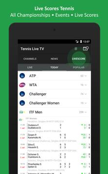 Tennis TV Live - Tennis Television - Live scores screenshot 7