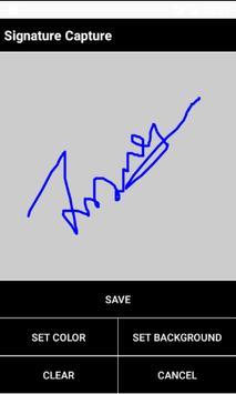SignatureCapturePro apk screenshot