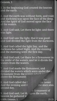 Bible. Updated KJV apk screenshot