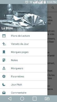 La Bible Louis Segond en Français poster