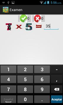 Tablas de Multiplicar screenshot 7