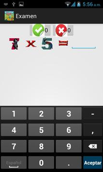 Tablas de Multiplicar screenshot 21