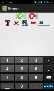 Tablas de Multiplicar screenshot 22