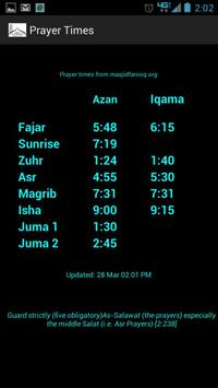 Masjid Al-Farooq apk screenshot