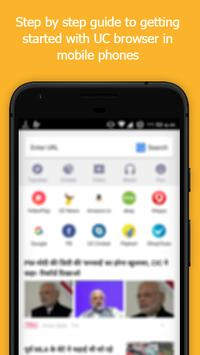 New Fast UC Browser Guide apk screenshot
