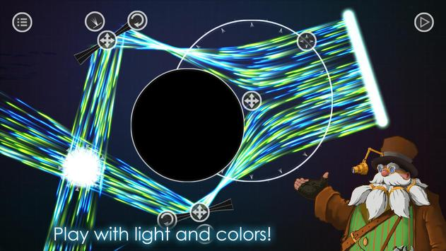 Opticus puzzle - beautiful game with lights screenshot 3