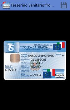 Tessera Sanitaria Italiana screenshot 2