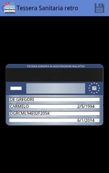 Tessera Sanitaria Italiana screenshot 3