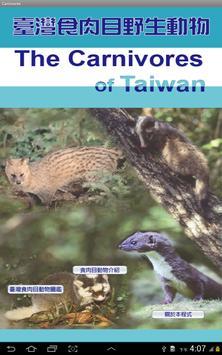 臺灣食肉目動物名錄 poster