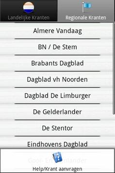 Kranten NL  (Nederland nieuws) apk screenshot