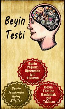 Beyin Testi Uygulaması poster