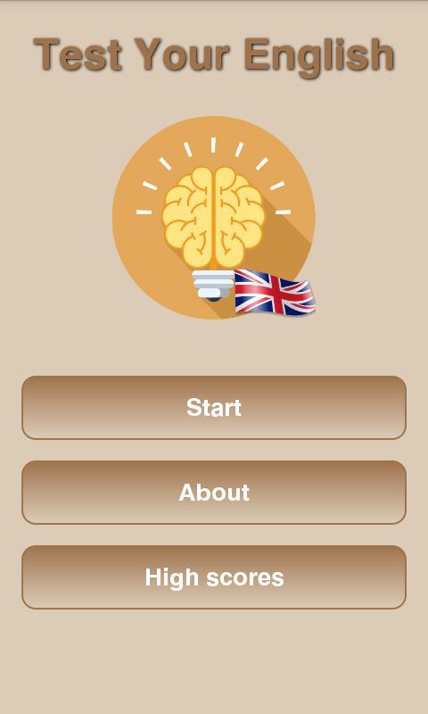 اختبر لغتك الإنجليزية For Android Apk Download
