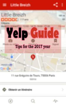 Guide Yelp apk screenshot