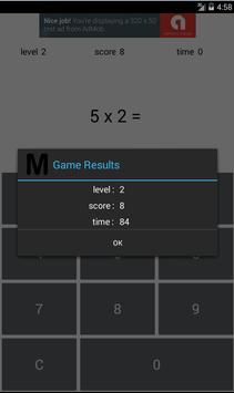 Simple Multiplication screenshot 2