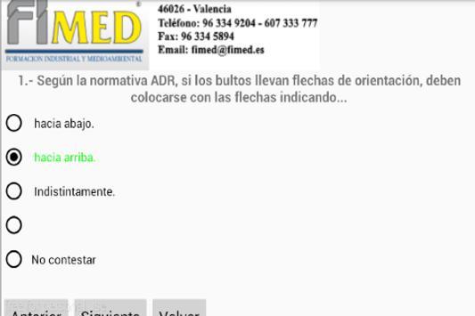 Fimed Examens ADR screenshot 1