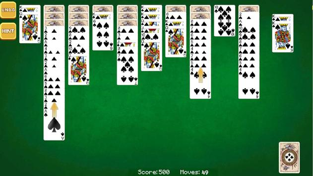 Spider Solitaire screenshot 14