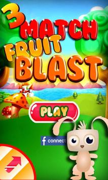 Fruit Blast Match 3 Game poster
